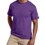 Russell Athletic Men's Basic T-Shirt, Purple, X-Large