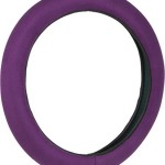 Bell Automotive 22-1-97052-9 Purple Stress Releiver Hyper-Flex Core Steering Wheel Cover