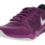Nike Women's Dual Fusion Tr 3 Print Purple Dusk/White/Noble Purple Training Shoe 7.5 Women US