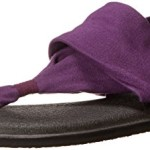 Sanuk Women's Yoga Sling 2-Sanuk Dress Sandal, Purple, 8 M US