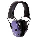 Howard Leight by Honeywell R-02522 Impact Sport Sound Amplification Electronic Earmuff, Purple