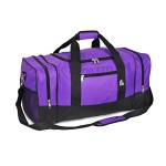 Luggage Sporty Gear Bag – Large, Dark Purple, One Size