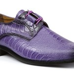 Giorgio Brutini Men's Heath Oxford, Purple, 10.5 M US