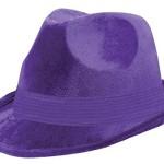 Amscan Classic Purple Fedora Gangster Hat