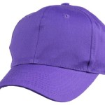 Plain Baseball Cap in Purple
