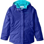 Columbia Big Girls' Razzmadazzle Jacket, Light Grape, Large