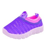 Conda Shoes Purple Mesh Girls Sneakers Hybrid Water Shoes – Durable – Machine Washable – Size 10 M US Toddler
