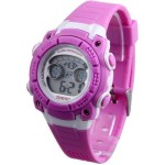 TIME100 Multifunction Sport Purple Electronic Watch #W40101M.05A