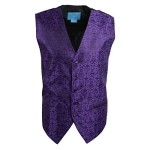 EGC1B05B-M Blue Violet Patterned Leadership For Marriage Waistcoat Woven Microfiber Suppliers Vests Medium Vest By Epoint