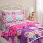 Disney Frozen Twin Comforter Purple Pink Elsa Anna