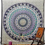 Hippie Elephant Tapestries, Large Size Tapestry Wall Hanging, Mandala Tapestries, Bohemian Tapestries, Wall Tapestries, Dorm Decor, Queen Bed Cover Bedding (1, A) by Craft Aura
