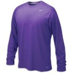 Nike 384408 Legend Dri-Fit Long Sleeve Tee – Purple