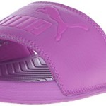 PUMA Women's Popcats Slide Sandal, Purple Cactus Flower, 8.5 B US