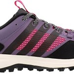 adidas Outdoor Kanadia 7 Trail Running Shoe – Women's Ash Purple/Black/Bold Pink 8