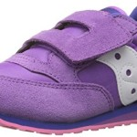 Saucony Girls Baby Jazz Hook and Loop Sneaker (Toddler/Little Kid), Purple/Pink, 9 M US Toddler
