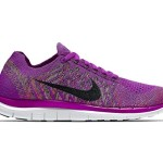 Nike Free 4.0 Flyknit Sz 9 Womens Running Shoes Purple New In Box