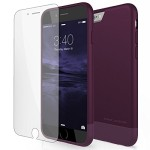 iPhone 6 Case – New GLYDE Series Ultra-thin Slider Case w/ HD Screen Protection [Slim Fit Design] **Encased® Lifetime Warranty** iPhone 6 4.7inch (Wine/purple)