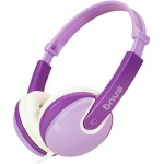 Snug Plug n Play Kids Headphones for Children DJ Style (Purple)