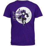 Disney Big Big Boys' Big Hero 6 Six Hiro Burst T-Shirt, Purple, Small