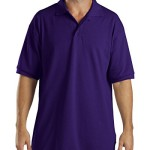 Dickies Men's Pique Polo Work Shirt Purple XX-Large