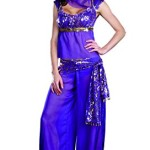 Dreamgirl Ally Kazam Costume, Purple, Medium