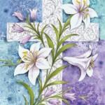 Toland Home Garden  Easter Lilies 12.5 x 18-Inch Decorative USA-Produced Garden Flag