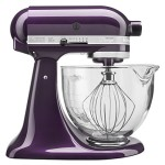 KitchenAid KSM155GBPB 5-Qt. Artisan Design Series with Glass Bowl – Plumberry