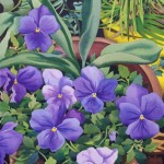 Toland Home Garden  Flowerpots n' Pansies 12.5 x 18-Inch Decorative USA-Produced Garden Flag