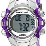 Timex Women's T5K816M6 Marathon Digital Display Quartz Purple Watch