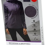 Paradox Waterproof & Breathable Women's Rain Jacket (Medium, Plum)