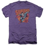 DC Comics Job For Me Mens Premium Tee Shirt Deep Purple Heather 2X