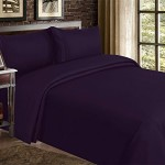 Red Nomad Luxury Duvet Cover & Sham Set, 3 Piece, Full/Queen, Purple