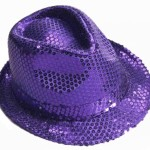 Forum Mardi Gras Costume Party Accessory, Purple, One Size