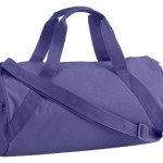 Liberty Bags Barrel Duffel OS Purple