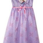 Disney Big Girls' Frozen Sisters Dressy Gown, Purple, X-Small
