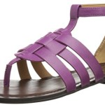 Nine West Women's Fairlady Synthetic Dress Sandal, Purple, 7.5 M US