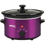 Nesco SC-150V Oval Slow Cooker, 1.5-Quart, Violet