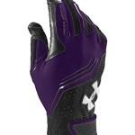 Under Armour Men's UA Clean Up Batting Gloves Medium Purple