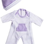 JC Toys Purple Romper (up to 11″)
