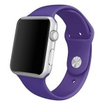 Apple Watch Band, Creazy® Sports Silicone Bracelet Strap Band for 38mm Apple Watch ,Purple