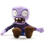 Plants vs Zombies Style Plush Purple Zombies Toys Doll Toys Pillows Made of Polypropylene – 28cm