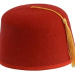 Rubie's Costume Co Durashape Fez Hat- Red Costume