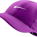 Nike Womens Featherlight Dri-Fit Hat Vivid Purple/White/Magenta