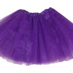 Hairbows Unlimited Purple Dance or Ballet Tutu Tulle Skirt