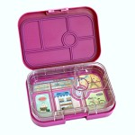 YUMBOX Leakproof Bento Lunch Box Container (Bijoux Purple) for Kids