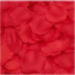 JUYO VONSAN® 2000pcs Red Silk Rose Petals with 2000pcs 6mm Dard Purple Diamond table confetti Bouquet Artificial Flower Wedding Party Aisle Decor Tabl Scatters Confett