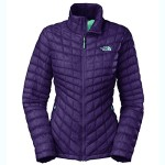 The North Face ThermoBall Full Zip Jacket – Women's Garnet Purple Medium