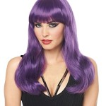 Costume Culture Women's Mistress Wig Deluxe, Purple, One Size