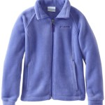 Columbia Big Girls'  Benton Springs Fleece Jacket, Purple Lotus, Large