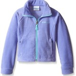 Columbia Big Girls Benton Springs Fleece, Pale Purple/Ocean Water, Medium